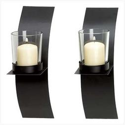 10 of Mod-art Candle Sconce Duo