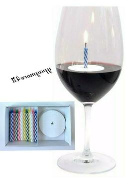 12 Floating Drink Candles Birthday Celebrate Any Occasion FD