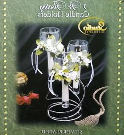 Studio Silversmith 3 - pc Floating Candle Holder Silverplate
