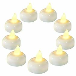 Homemory 36 Pack Flameless Floating Candles, Warm White Led