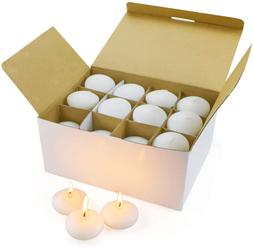 48 Pcs Floating Candles For Centerpieces Mini Small White Un