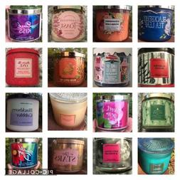Bath and Body Works 3-wick candle white barn hard to find ra
