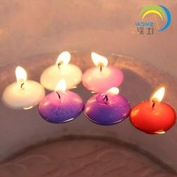 Floating Candles Set 10 pcs Small Water Candle