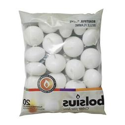 Bolsius Floating Candles White Bag of 20