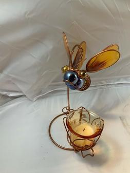 Home Decor Bee Floating Votive Candle Holder for Tabletop
