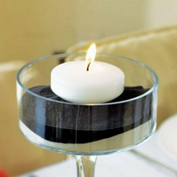 floating unscented long lasting candles