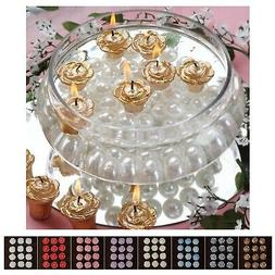 Mini Floating Rose Candle for Wedding Party Birthday Centerp