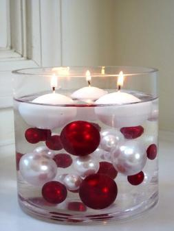 """White Floating Candles 1.8"""" - 6 / Pack - Unscented...Wholesa"""